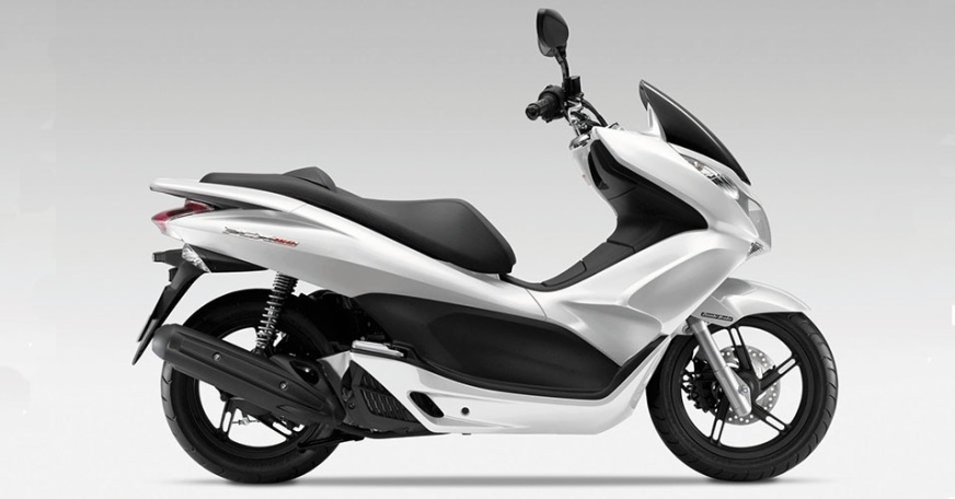ext-1369983390Honda PCX 150 White